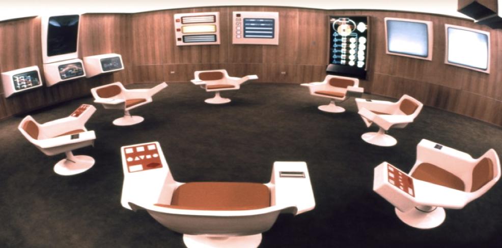 Figure 2. Cybersyn's Operation Room